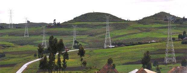 Lignes de transmission, en Ethiopie